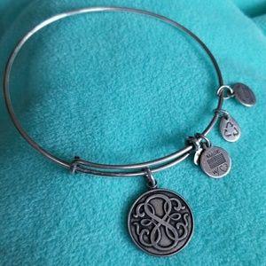 Alex and Ani BANGLE charm 2014 bracelet